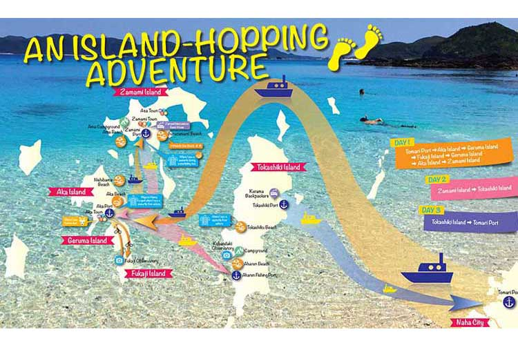 A cheap way to hop around Okinawan islands