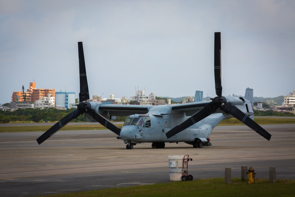 VMM-262, HMLA-369 fly to Ie Shima for combined training