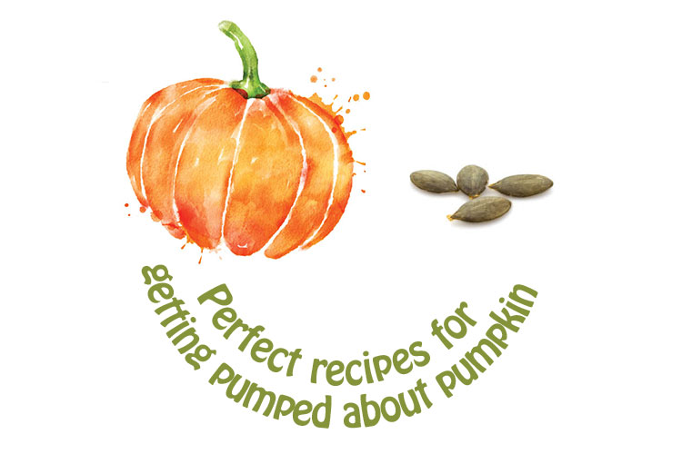 Perfect recipes for getting pumped about pumpkin