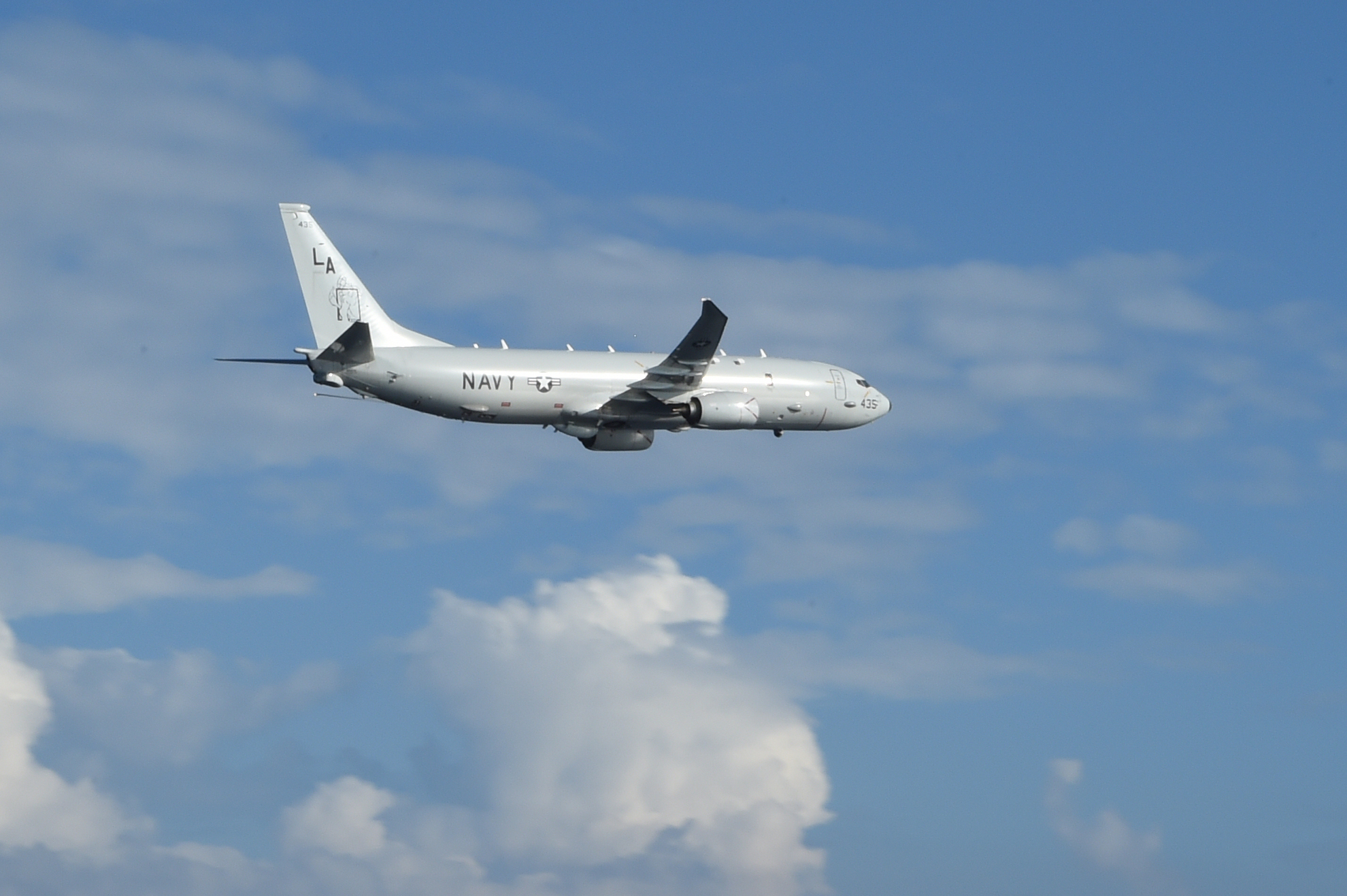 7th Fleet P-8A Poseidon finds missing vessel in South Pacific, all passengers safe