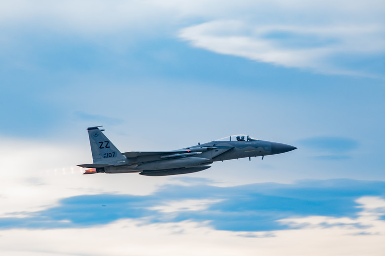 44th FS takes to the skies in Northern Edge 19