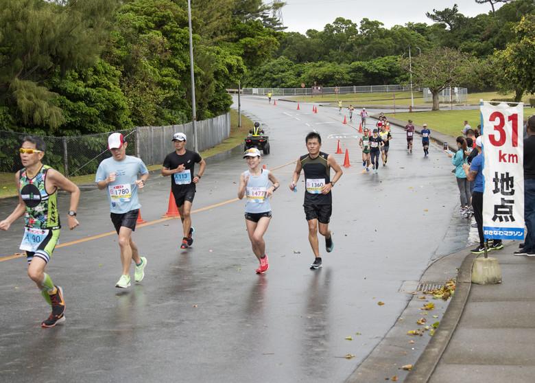 Kadena supports Okinawa Marathon