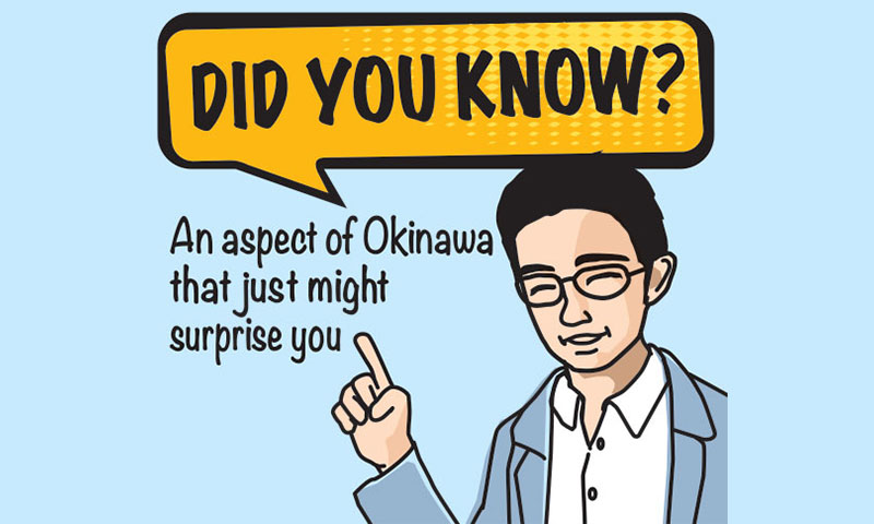 Did you know?: History of Okinawan lacquerware