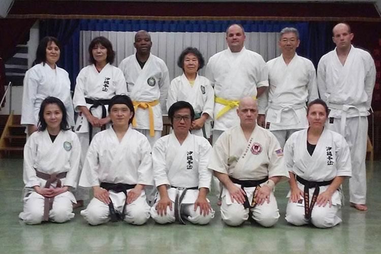 Photo courtesy of Okinawa Kenpo Kenyukai