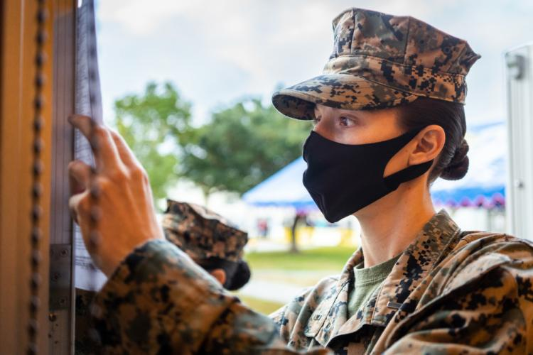 U.S. Marine Corps photo by Cpl. Sarah Marshall