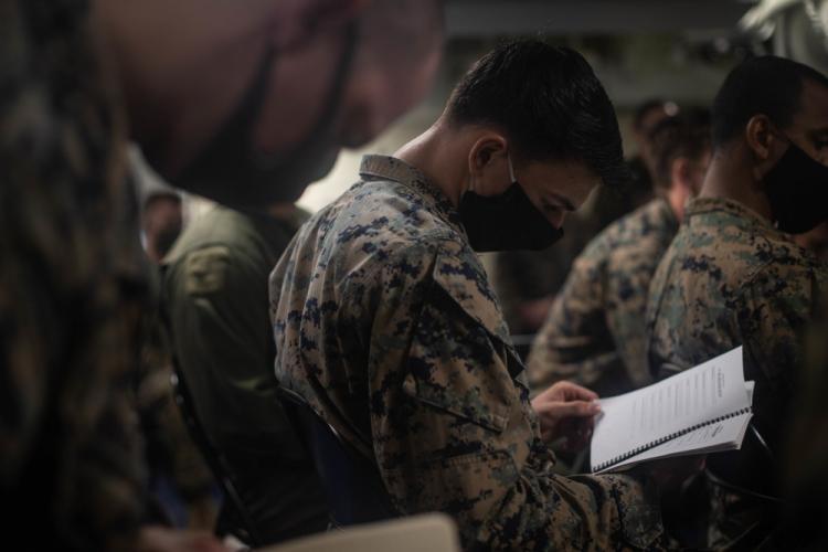 U.S. Marine Corps photos by Sgt. Audrey M. C. Rampton