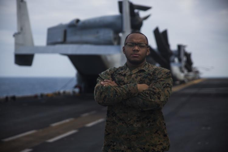 """We cross-train Marines in every aspect of combat logistics, preparing them for the field and for any situation because when you're a Marine, you are able to adapt and overcome,"" said Corporal Christian Gomez, a supply specialist with CLB-31."