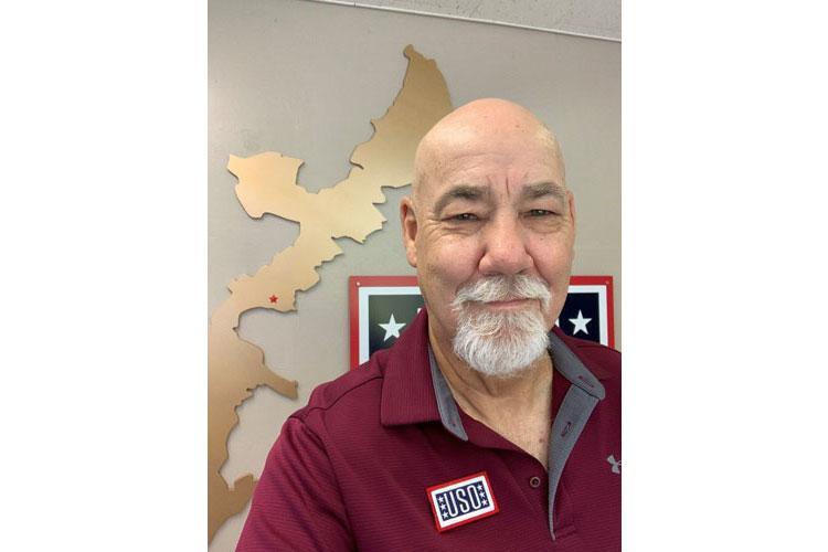 Jeff Pitt, USO Camp Hansen/Center Operations Specialist