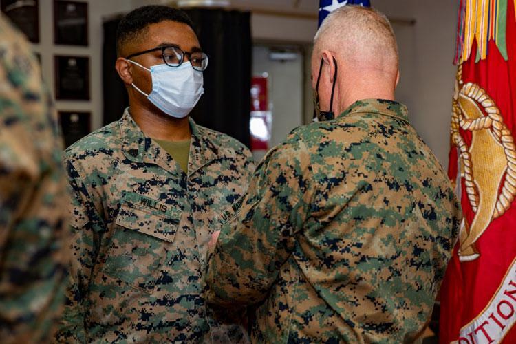U.S. Marine Corps photo by Lance Cpl. Natalie Greenwood