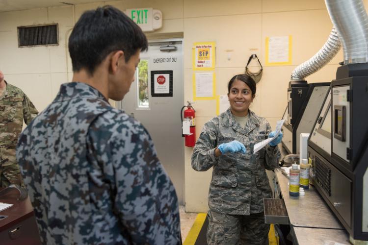 U.S. Air Force photo by Airman 1st Class Cynthia Belío