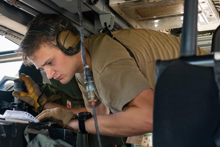 U.S. Air Force photo by Senior Airman Cynthia Belío
