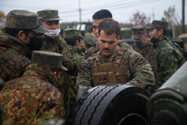 U.S. Marine Corps photo by Lance Cpl. Lorenzo Ducato