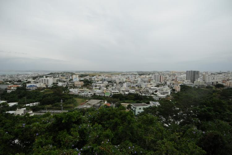 A northward view from Kakazu Ridge. Photos by Shoji Kudaka