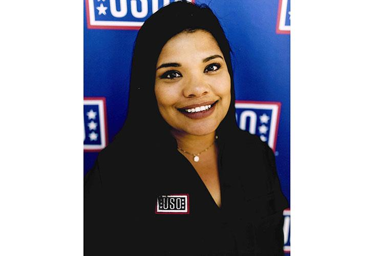 Bridgette Sanchez, USO Schwab Center Manager