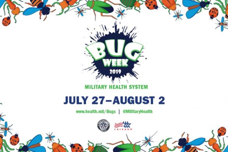 Bug Week graphic (MHS graphic)