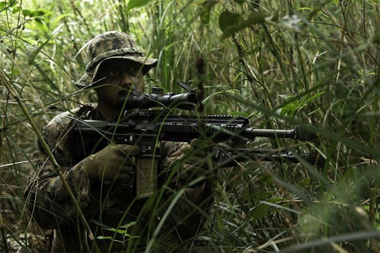 U.S. Marine Corps photo by Lance Cpl. Ujian Gosun