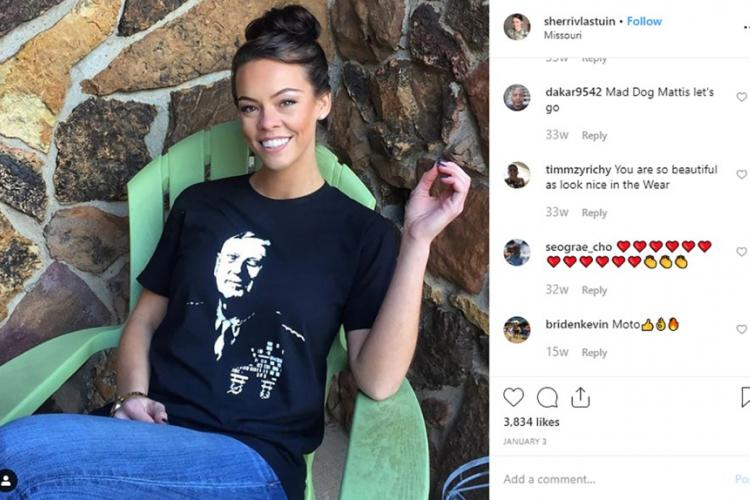 """Sherri Vlastuin, an Army combat medic based at Fort Leonard Wood in Missouri, has become popular on Instagram over the past two years. She wants to use the social media network to inspire young women, but cybercriminals using her photos to engage in """"romance scams"""" have made Vlastuin consider deleting her online presence. INSTAGRAM"""