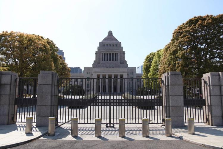 The National Diet Building in central Tokyo is pictured on Thursday, April 2, 2020. AKIFUMI ISHIKAWA/STARS AND STRIPES