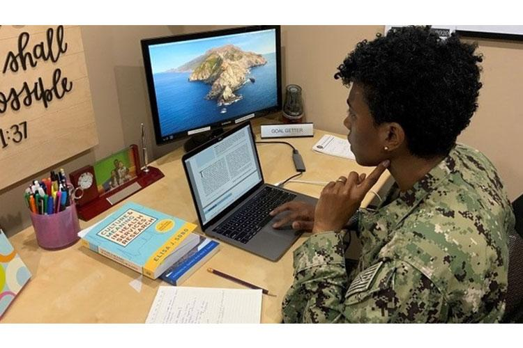 Graduate work often requires in-person collaboration, which has become a major obstacle during the COVID-19 pandemic. (Courtesy photo)