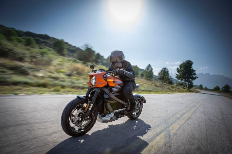 Harley-Davidson says its new LiveWire electric motorcycle can accelerate from zero to 60 mph in 3.5 seconds. HARLEY-DAVIDSON