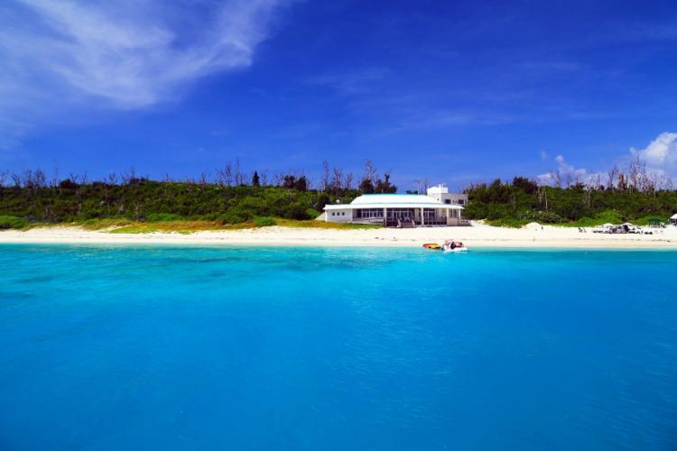 Minnajima, also known as Croissant Island, is just a 20-minute ferry ride from Okinawa's main island. AYA ICHIHASHI/STARS AND STRIPES