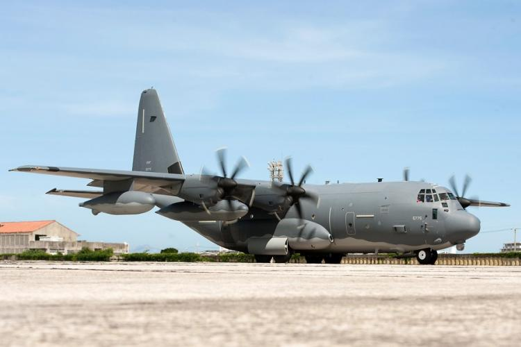 An MC-130J Commando II, assigned to the 353rd Special Operations Group, taxis at Kadena Air Base, Okinawa, in June 2017. GREG ERWIN/U.S. AIR FORCE