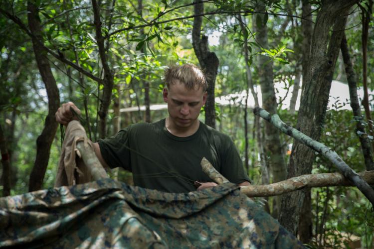 U.S. Marine Corps photo by Lance Cpl. Courtney A. Robertson