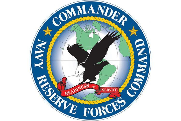 Commander, Navy Reserve Forces Command logo. (U.S. Navy graphic by Mass Communication Specialist 1st Class Arthurgwain L. Marquez)