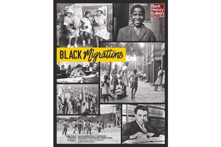 """""""Black Migrates"""" Theme 2019 Black History Month. (Art courtesy of Sigma Gamma Gamma Chapter of Omega Psi Phi Fraternity, Inc.)"""