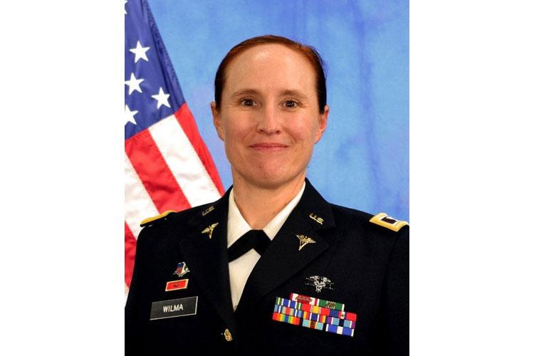 Army Col. Alisa R. Wilma, the Defense Commissary Agency's former director of public health and safety