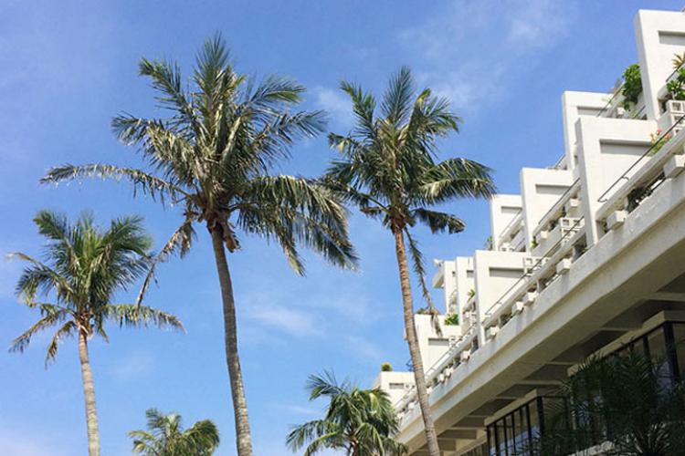 Escape To Hotel Moon Beach In Okinawa Stripes