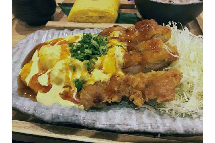 The chicken nanban at Toritama in Yomitan is a bit heavy but has put this Okinawa chain on the map. (MATT BURKE/STARS AND STRIPES)