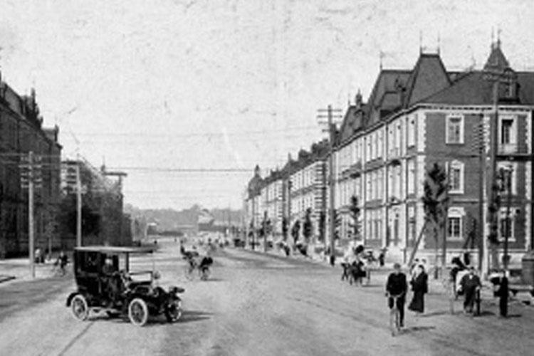 Marunouchi 1911 (Photo credit: National Diet Library)