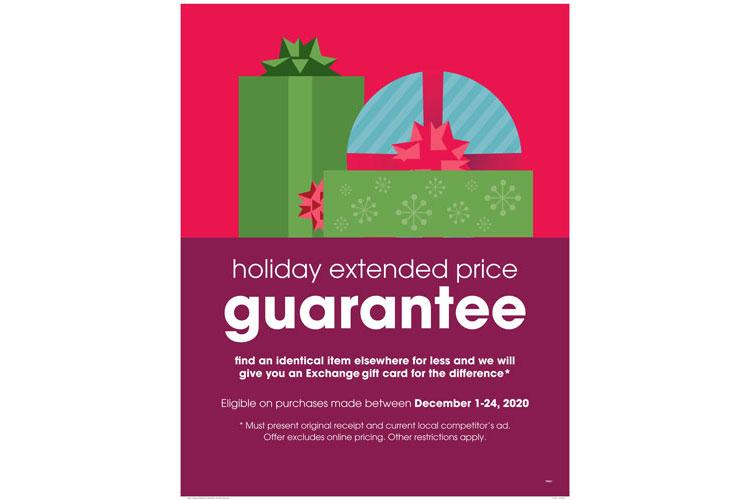 Aafes Holiday Price Guarantee Offers Savings To Foster Shoppers