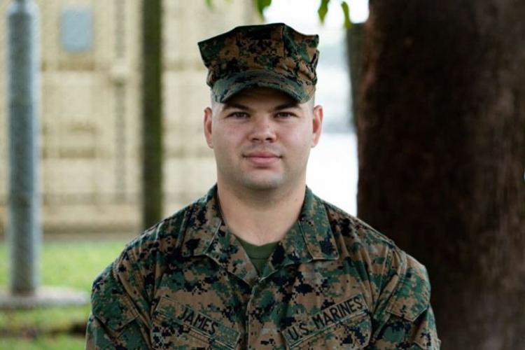 Sgt. John James from Combat Logistics Battalion (CLB) 31