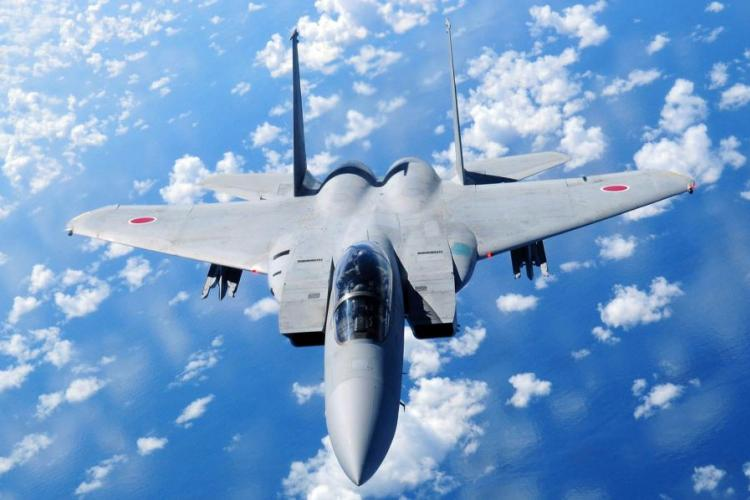 The Japan Air Self-Defense Force scrambled its fighter jets 638 times between April 1, 2018, and March 31, 2019, in response to Chinese drones, fighter jets, bombers and surveillance planes, according to statistics from Japan's Ministry of Defense. ANGELIQUE PEREZ/U.S. AIR FORCE