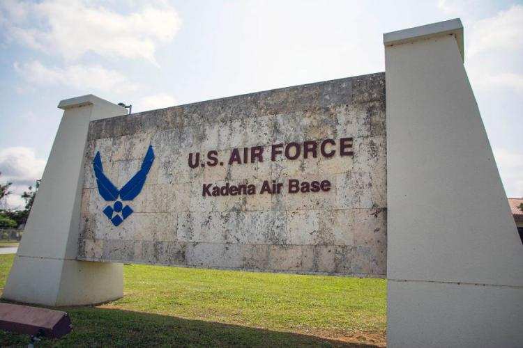 Kadena Air Base is home to the 18th Fighter Wing in Okinawa, Japan. CARLOS VAZQUEZ/STARS AND STRIPES