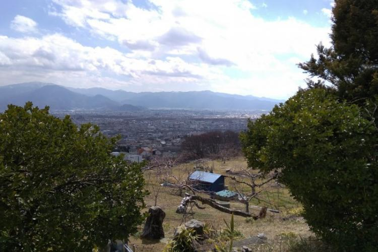 Nagano from above. Photo by Arlene Bastion